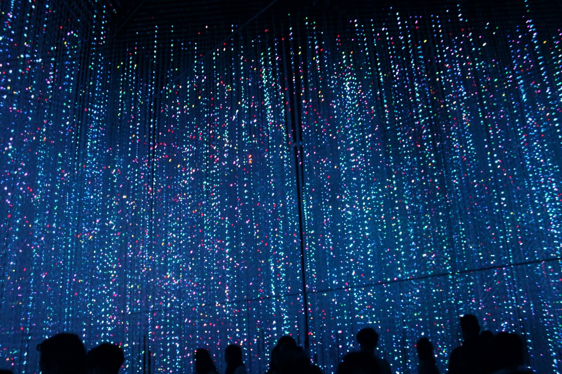 Digital Art Lab's crystalline LED room