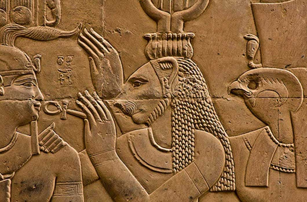 Statues-of-Lioness-Goddess-Sekhmet-Unearthed