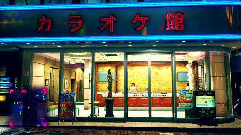 Shinjuku in Yakuza Kiwami 2